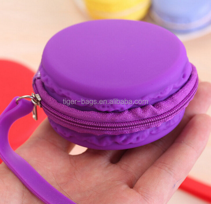 OEM Cheap Beautiful Handbags Fashion Silicone Coin Purse Ladies' Cute Wallet