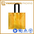 High quality bio-degradable shopping disposable plastic bag with handle