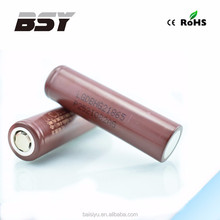 High quality Authentic LG HG2 3.7v rechargeable 18650 battery li-ion battery 3.7v 1000mah