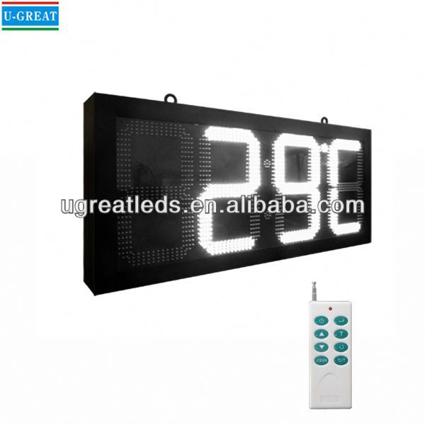 China manufacturer hanging RF control prayer time display