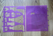 professional plastic PP Mylar Removable wall Stencils