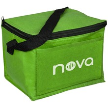 Outdoor reusable nonwoven insulated lunch bag cooler bag