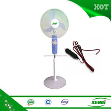 16 inch 12v dc solar powered outdoor indoor stand car fans price