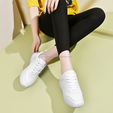 2018 White Spring Casual Sports Shoes for women with low price