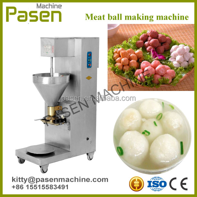 Frozen fish ball machine | Meatball shaping machine | Food stuffed ball making machine
