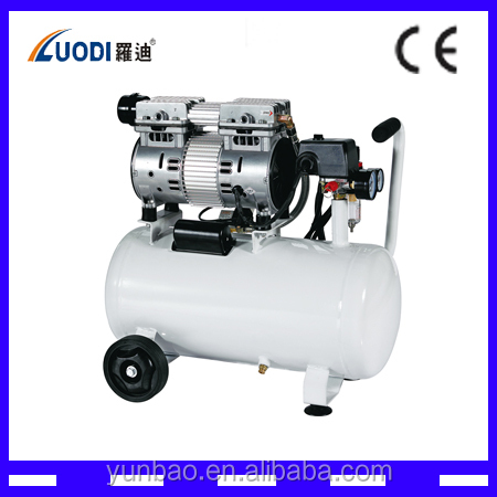 Oil Free Air Compressor 600 L/min,7bar Belt Driven Dental Compressor Silent