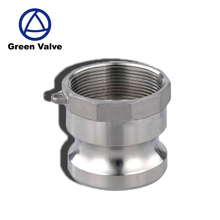 Gutentop GT1029 stainless steel groove male adapter x female NPT thread camlock coupling