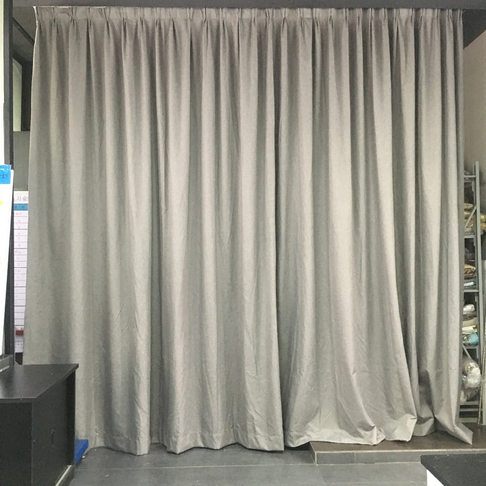 Hotel room Customized white coating NFPA701 standard fireproof curtains/hospital curtain blackout