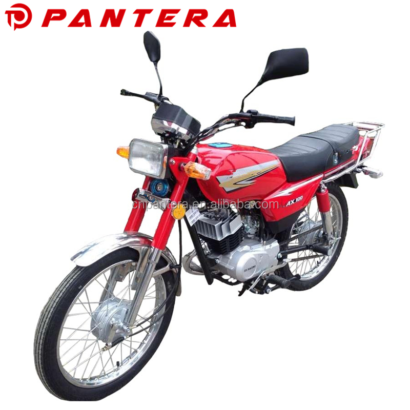 2-Stroke China Motorcycle AX100 Motocicleta for Bolivia