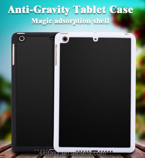 New arrival slim Anti Gravity Phone Case Cover Sticky nano suction case For iPad case
