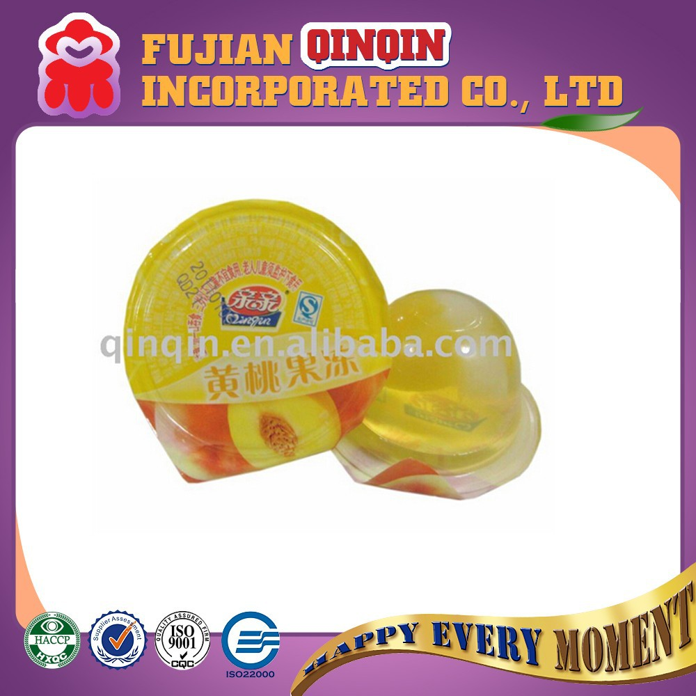 40g fruitery jelly nata de coco with really yellow beach