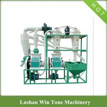 Multifunctional High Efficiency Small Maize Milling Plant