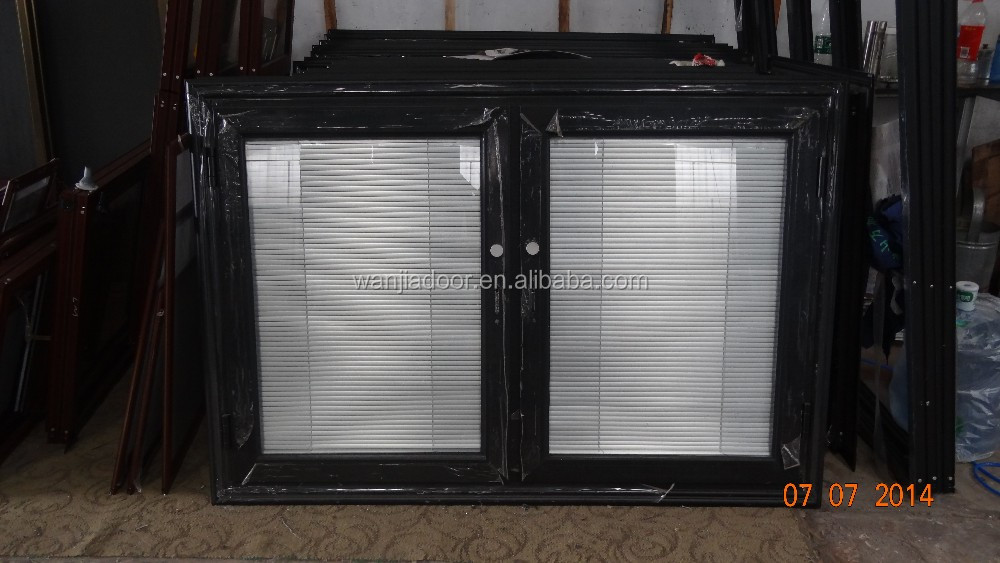 aluminum casement blinds window
