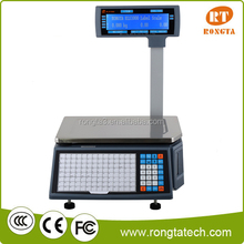 digital supermarket retail scale using fruit vegetable weighing scale