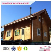 Japanese prefabricated log cabin Wooden house for living Made in China KPL-052
