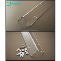 Clear Plastic Sharp Edge Protection Strip