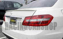 UNPAINTED AMG STYLE TRUNK BOOT LIP SPOILER Fit For W212 E-CLASS E300 E350 E63AMG E550 E320 2010UP M042F