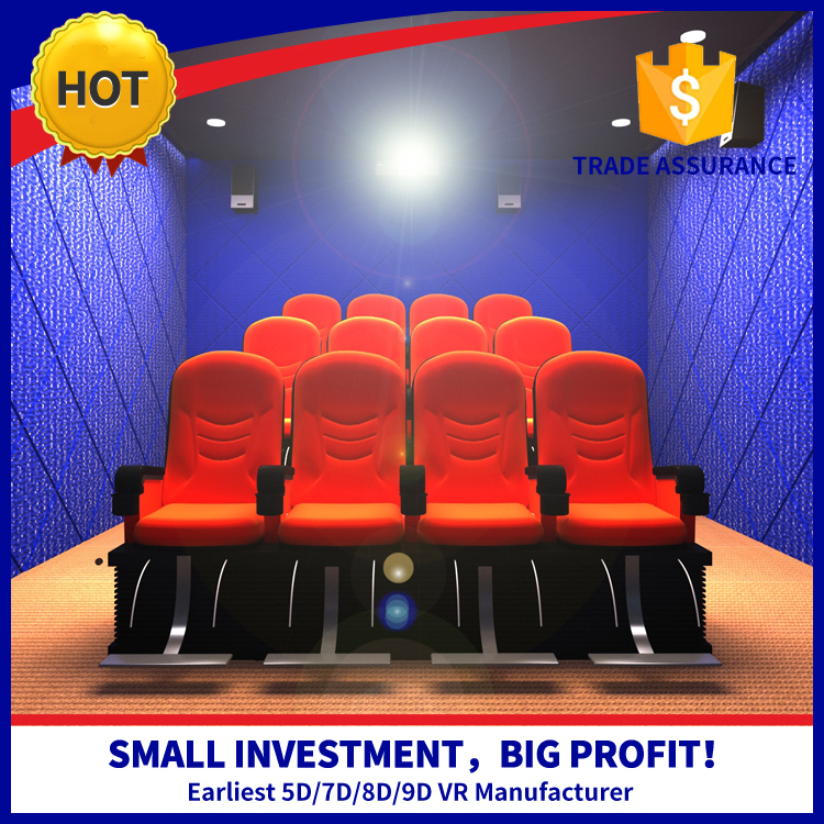 NINED High Income Investment Cinema Manufacturers Hot Sale 5D Cinema 5D Theater