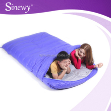 wholesale sleep kid bags with pillow camping equipments