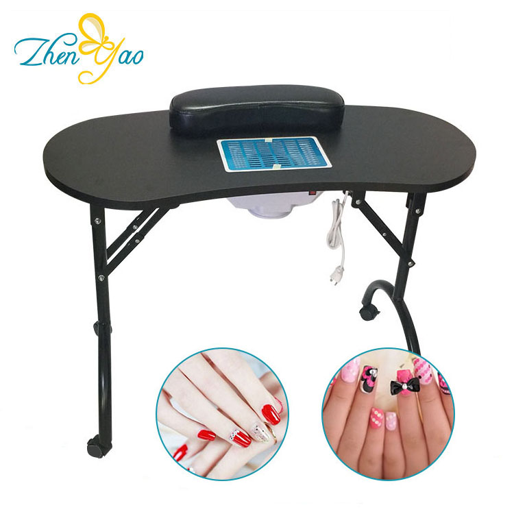 Beauty Salon Furniture Nail Manicure Table Witn Exhaust Fans