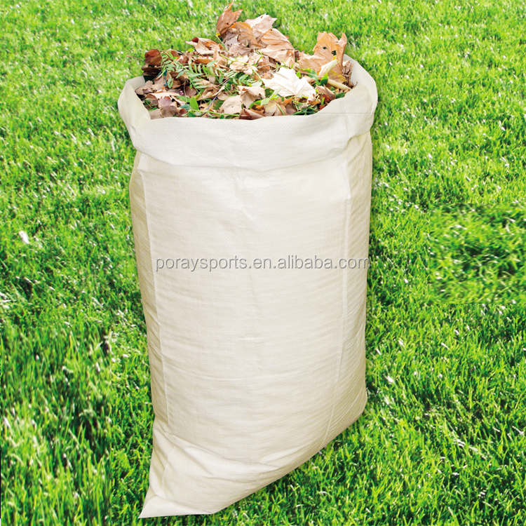 Poray Woven polypropylene sand bags with ties for UV protection