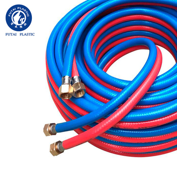 PVC double color double gas hose for welding or drainage