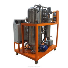 Vacuum Vaporizing Technology Deodorizing Vegetable Oil Filtration Machine Recovering Waste Oil