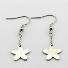 mini charms stainless steel bargain earrings