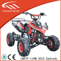 110cc atv four wheel motorcycle on atv