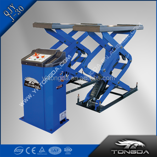 "300 KG HYDRAULIC SCISSOR LIFT QJY-J-30 WITH MAX LOADING HEIGHT 81"" OPTIONAL COLOR ( [ISO;CE]"