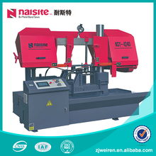 90 Degrees Scroll CNC Band Saw Machine Horizontal For Metal working
