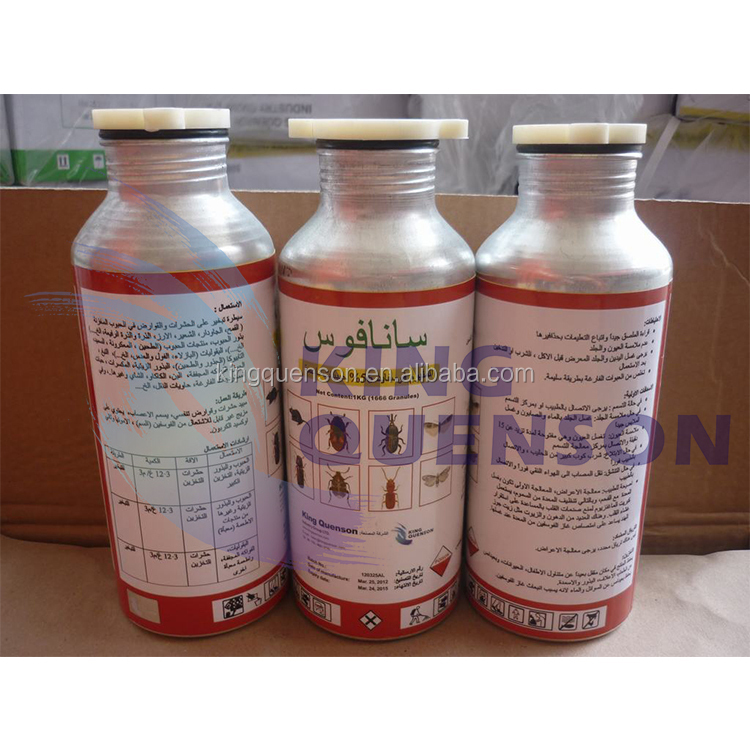 King Quenson FAO Fast Delivery Aluminum phosphide 90% TC For Mouse Kill