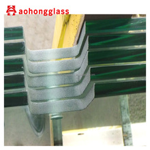 10mm 12mm Clear Deck Railings Tempered Glass
