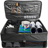 factory large golf trunk organizer unique golf bags, golf travel case