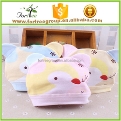 wholesale hot sale cotton baby hats , lovely newborn baby hats