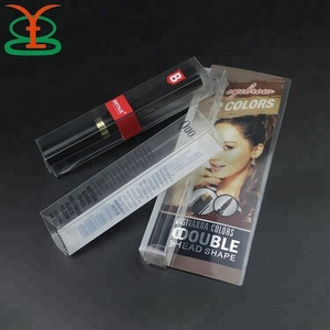 Clear Rigid Gift Cosmetic Transparent Brush Boxes Set