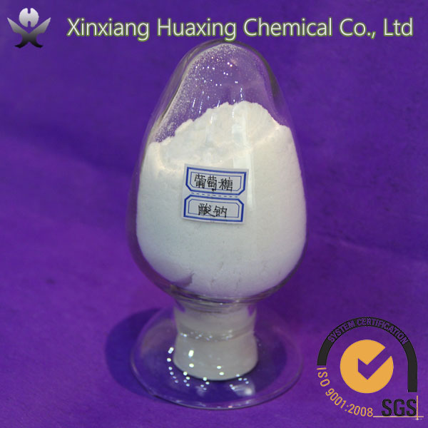 China Manufacturer of Low Price C6H11O7Na Molecular Weight 98% Industial grade Gluconic Acid Sodium Salt