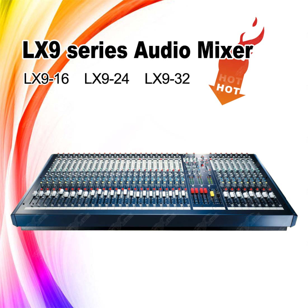 Lx9-32 Professional Audio Mixer/Mixing Console/Pro Audio