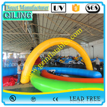 Good quality custom-made inflatable sport event eagle arch/new inflatable arch for sale