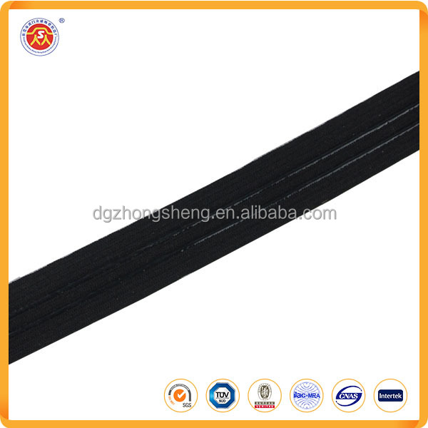 Customed Non-slip Elastic Band webbing with Silicone