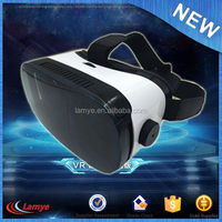 2016 For 4.7-6.0 Mobile virtual reality vr box 3d glasses for normal tv