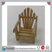 Natural Mini Wooden Children Chair With