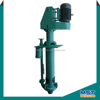 Rubber lined vertical open impeller pumps