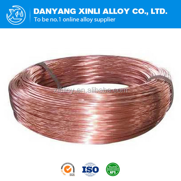 6J8 Copper Manganin alloy wire prices