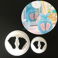 TANGCHU 2017 Newest Cookie Cutter Imperial Crown Shape Fondant Mould Plastic Cut Mold DIY Cake Decoration Baking Tool