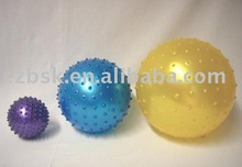 small inflatable massage ball
