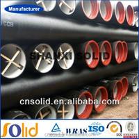 C25, C30, C40 K9 ductile iron pipes