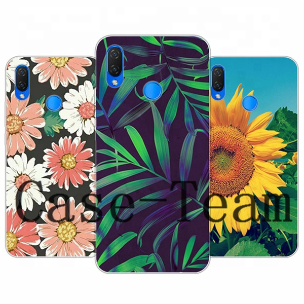 Mobile Phone Case for Huawei <strong>P</strong> Smart+ (nova 3i), Free Shopping, Cartoon Flower Cover for Huawei <strong>P</strong> Smart+ (nova 3i) case
