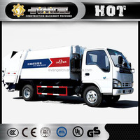 2016 new compactor garbage truck price 3 ton XZJ5070ZYS garbage truck for sale