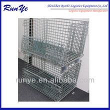 Agricultural Industry Use Durable Metal Security Wire Cage Metal Bin